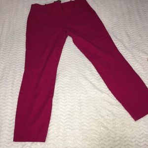 J crew Minnie pink pants